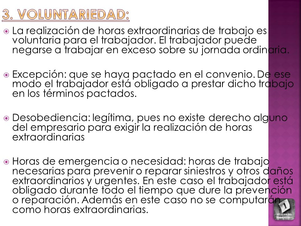 3. VOLUNTARIEDAD: