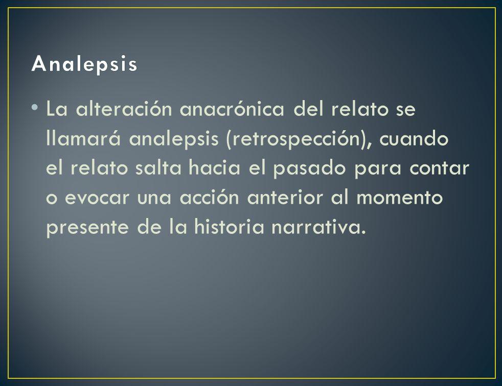 Analepsis