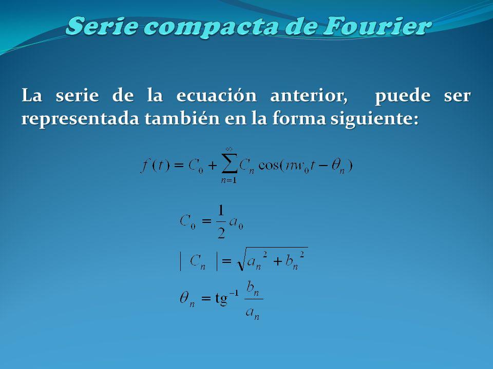 Serie compacta de Fourier