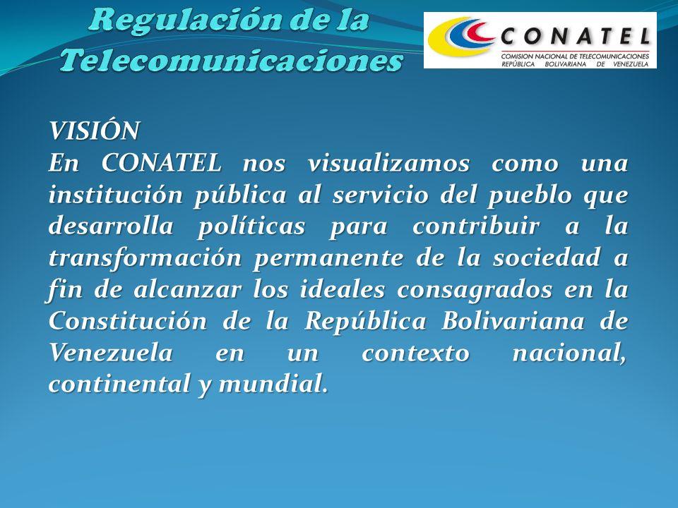 Regulación de la Telecomunicaciones