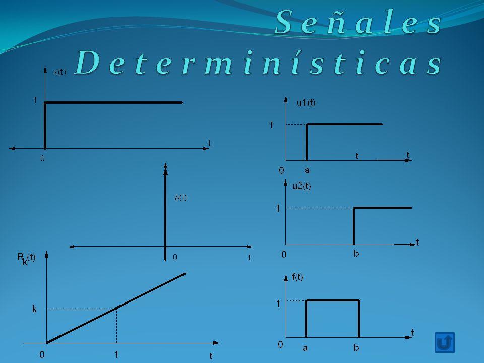 Señales Determinísticas