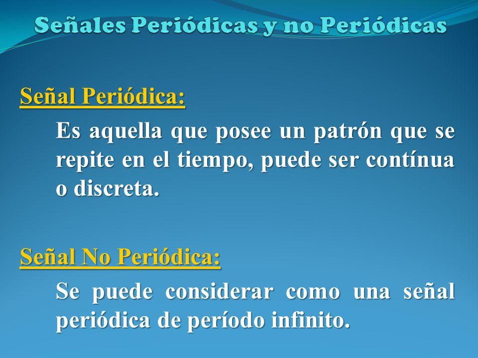 Señales Periódicas y no Periódicas