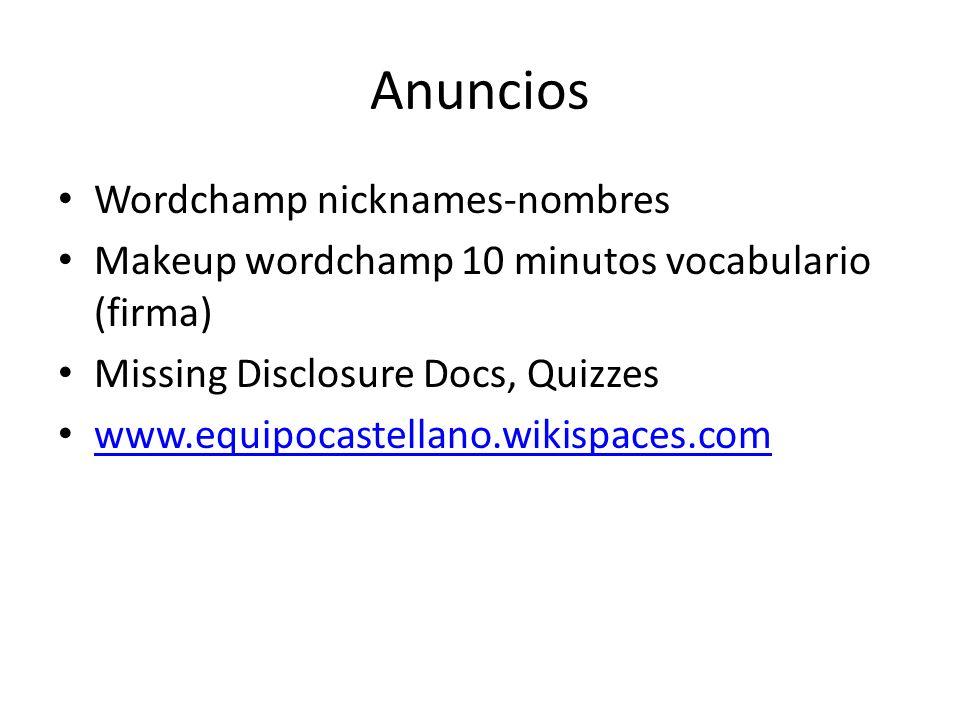 Anuncios Wordchamp nicknames-nombres