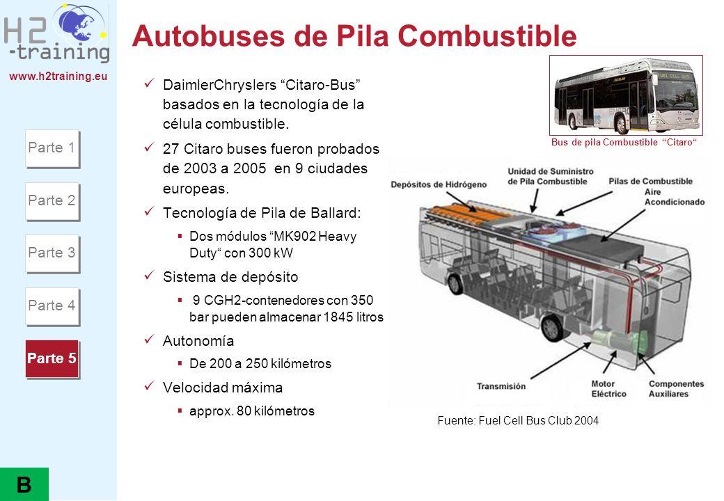 Autobuses de Pila Combustible