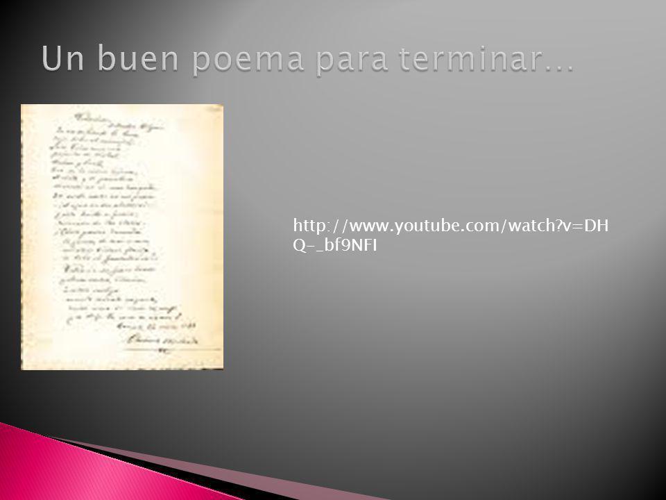 Un buen poema para terminar…