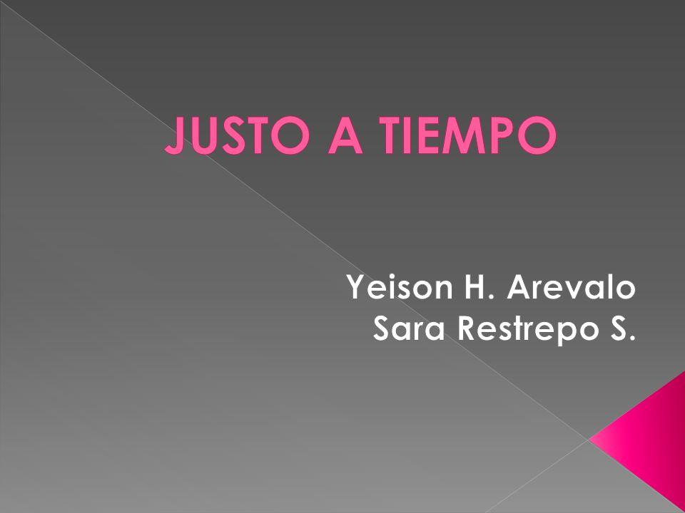 Yeison H. Arevalo Sara Restrepo S.