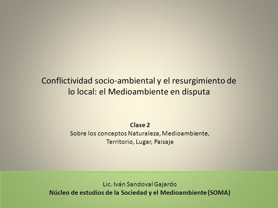 Núcleo de estudios de la Sociedad y el Medioambiente (SOMA)