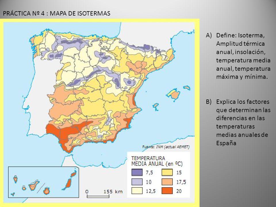 PRÁCTICA Nº 4 : MAPA DE ISOTERMAS