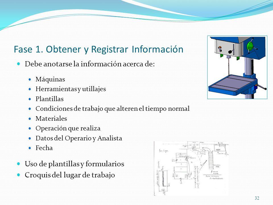Fase 1. Obtener y Registrar Información
