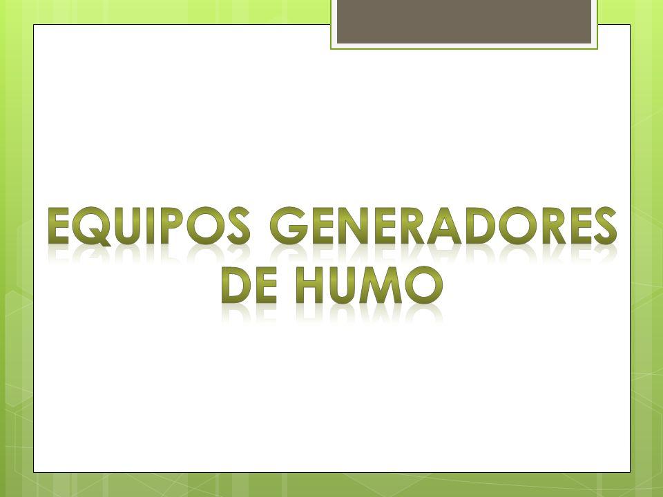EQUIPOS GENERADORES DE HUMO