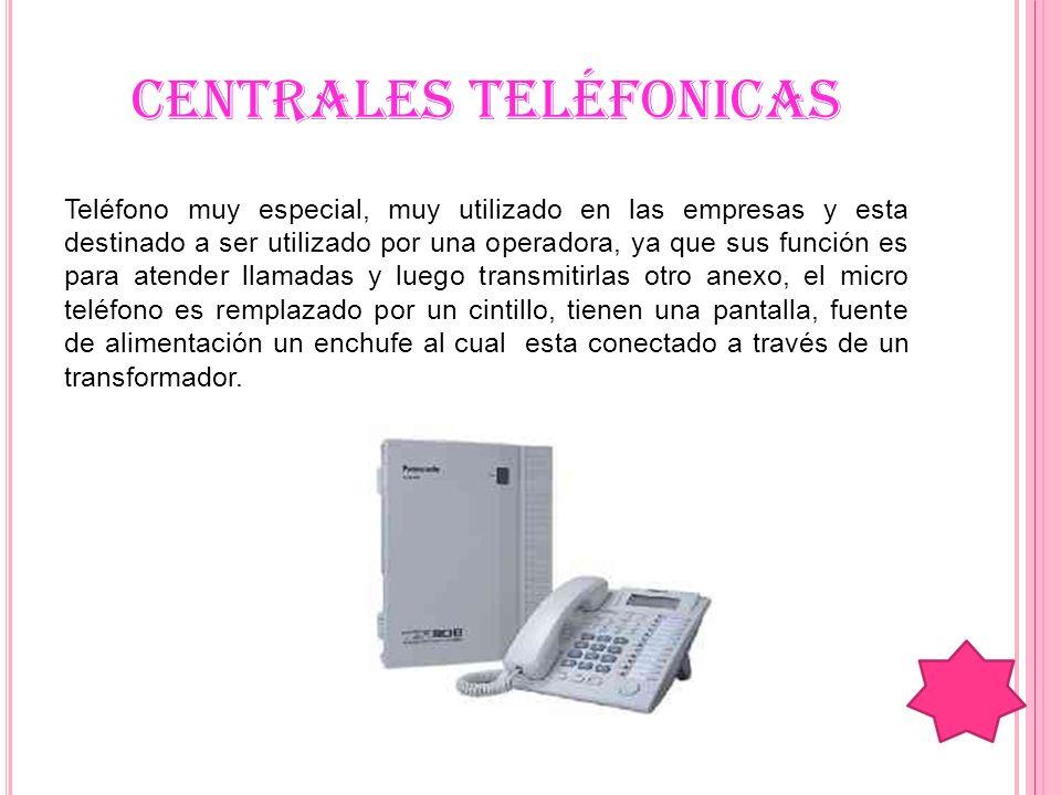 CENTRALES TELÉFONICAS