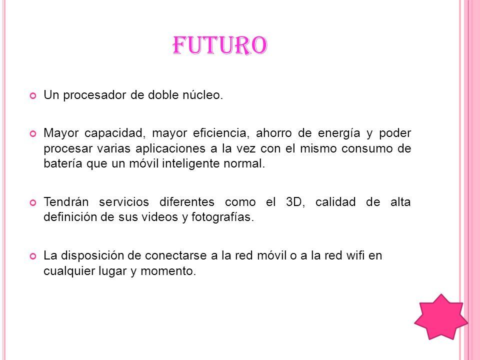 FUTURO Un procesador de doble núcleo.