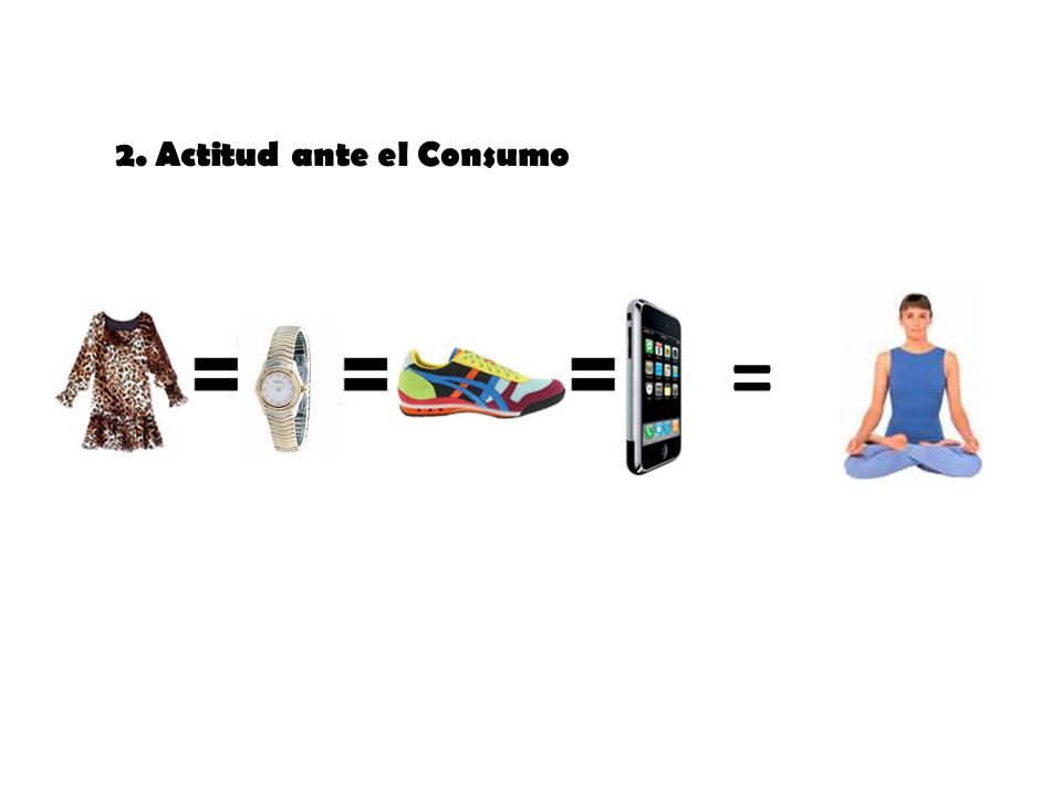 2. Actitud ante el Consumo