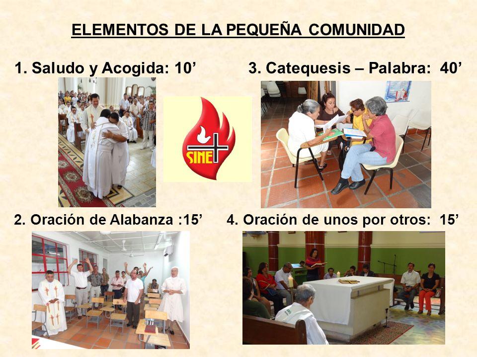 ELEMENTOS DE LA PEQUEÑA COMUNIDAD
