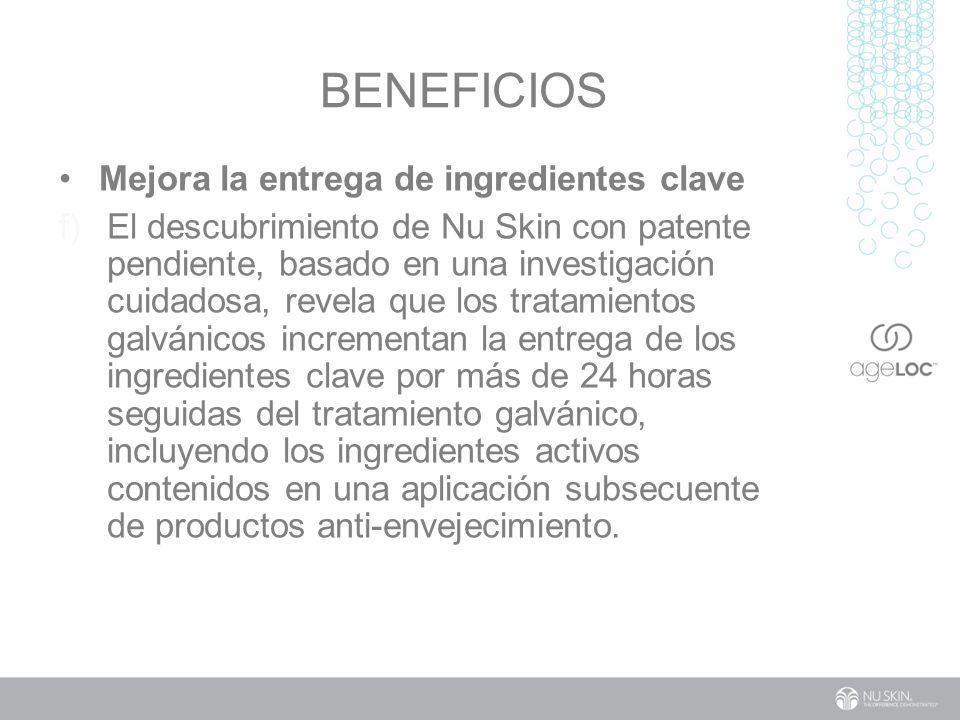 BenefiCIOs Mejora la entrega de ingredientes clave