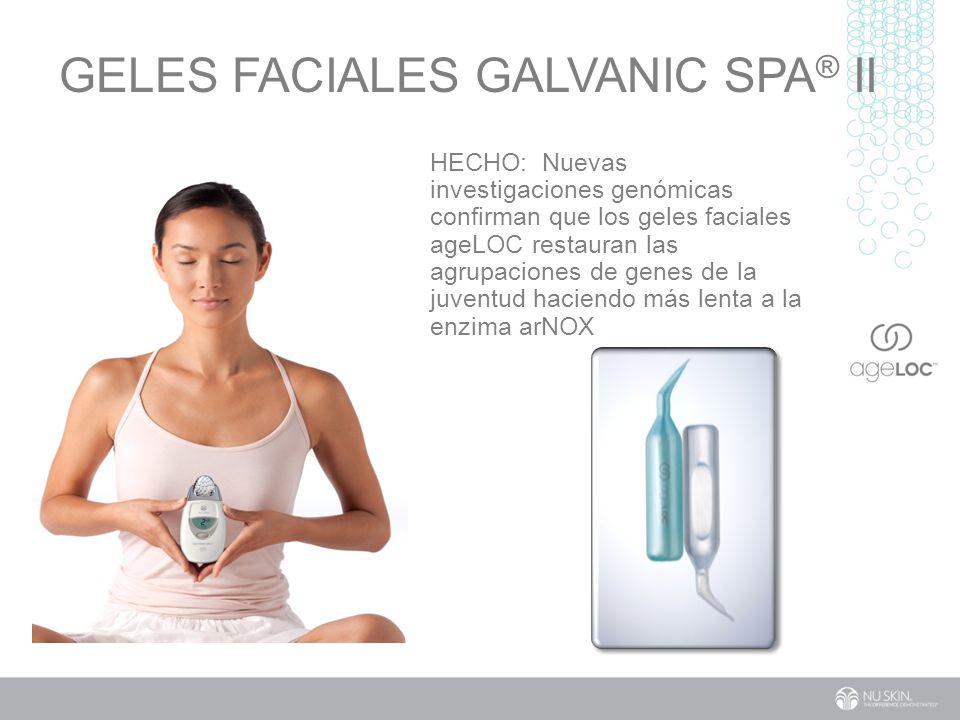 GELES FACIALES Galvanic Spa® II