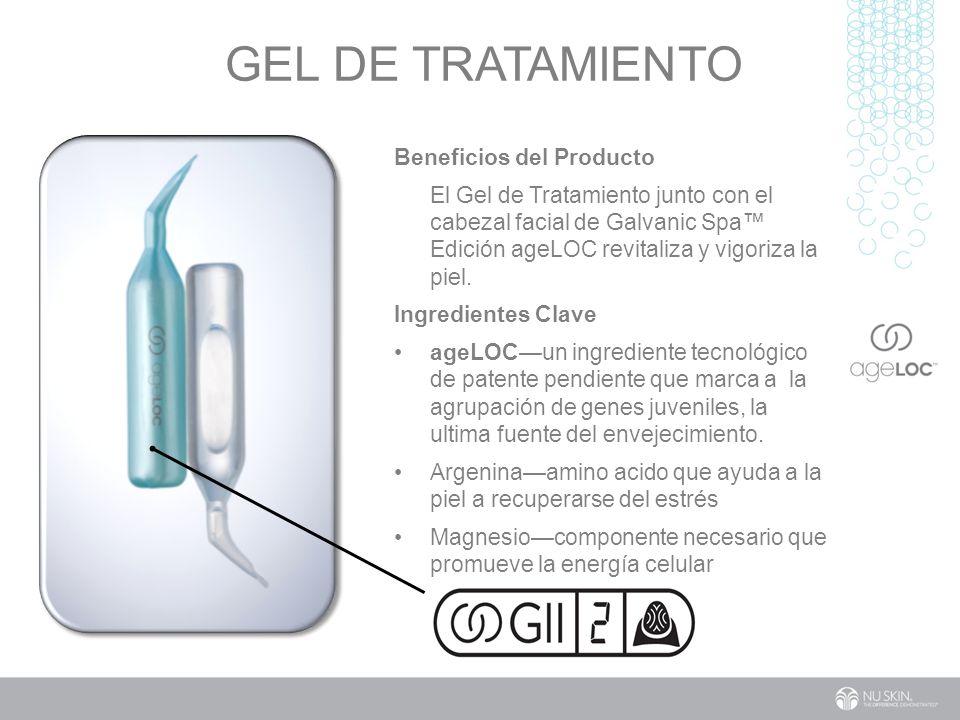 GEL DE TratAmIentO Beneficios del Producto
