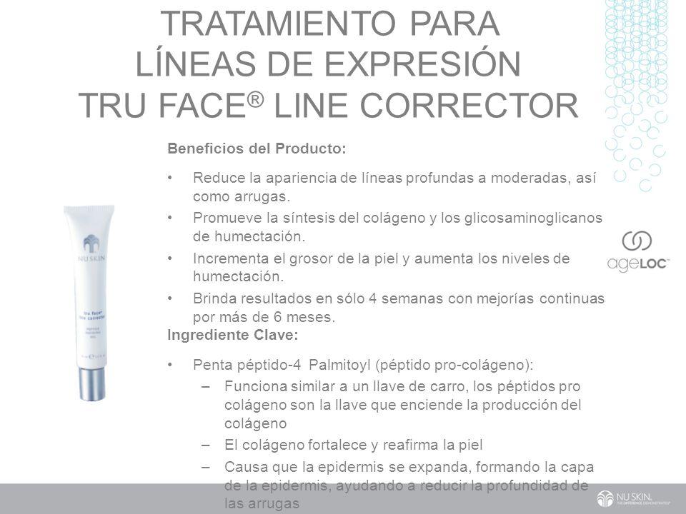 Tratamiento PARA LÍNEAS DE EXPRESIÓN Tru Face® Line Corrector