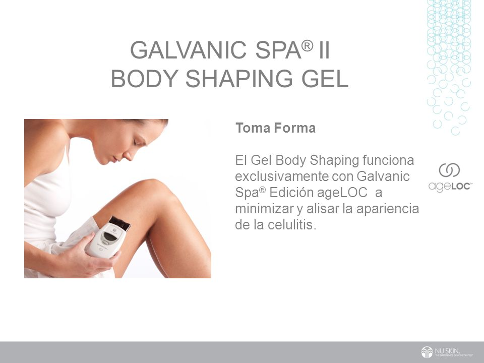 Galvanic Spa® II Body Shaping Gel
