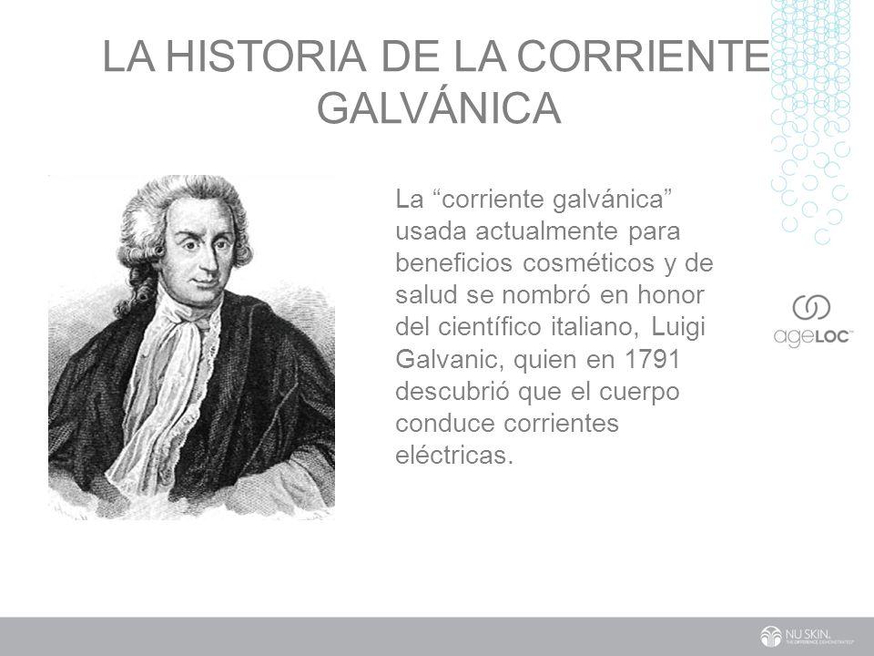 LA historia de la corriente galvánica