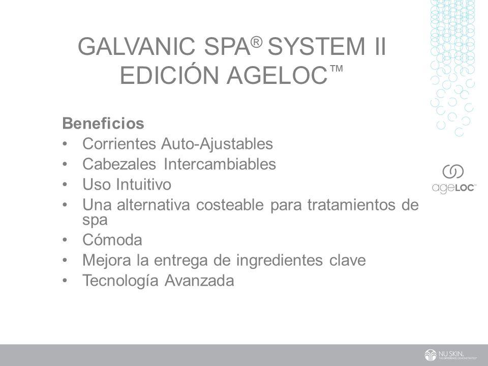 Galvanic Spa® System II EdiCión ageLOC™