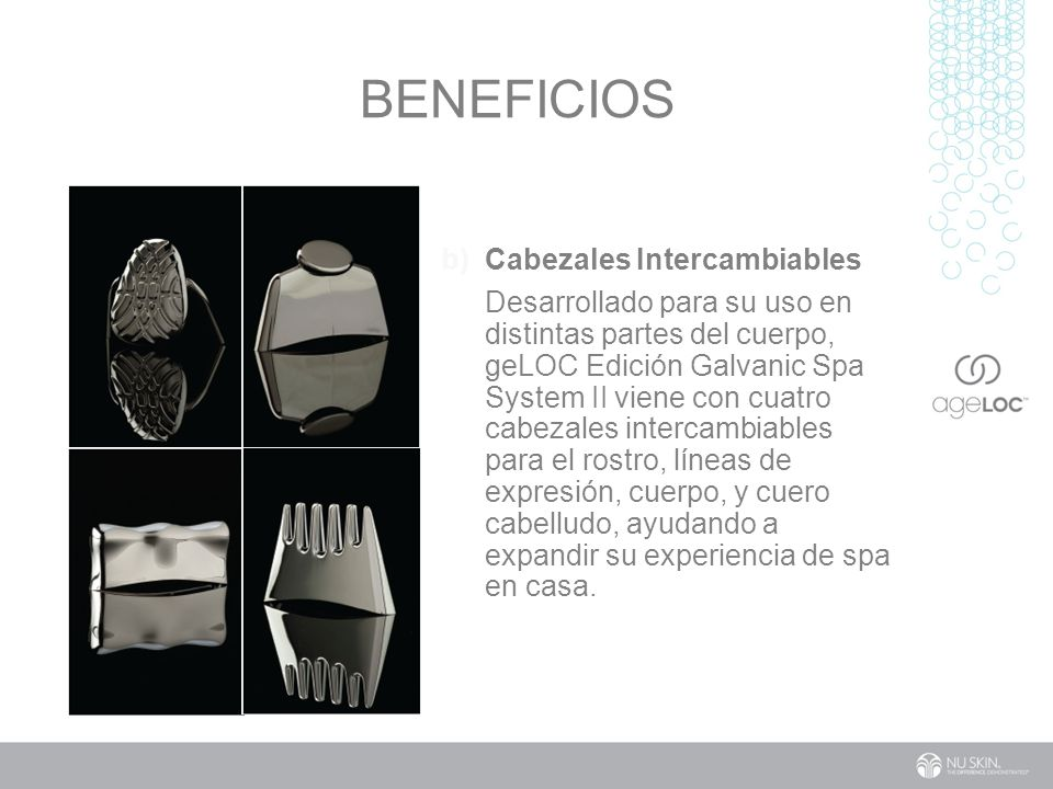 Beneficios Cabezales Intercambiables