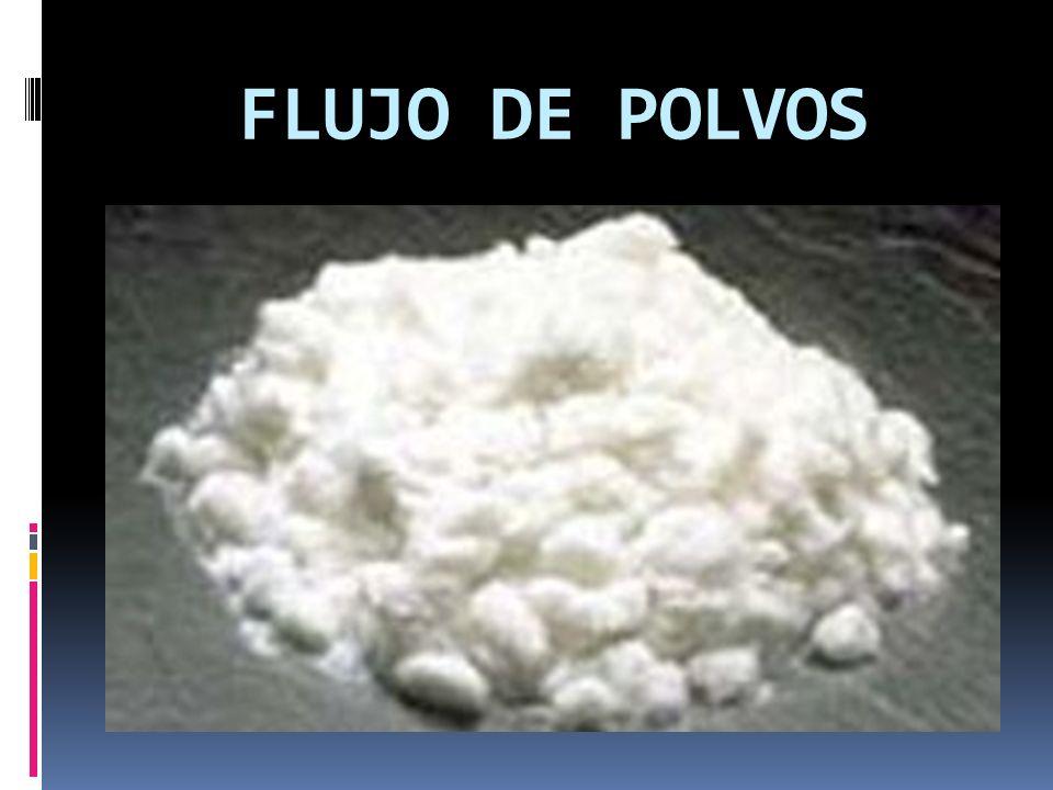 FLUJO DE POLVOS