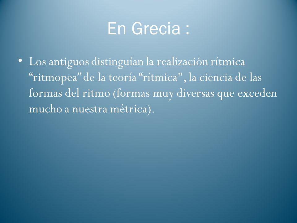 En Grecia :