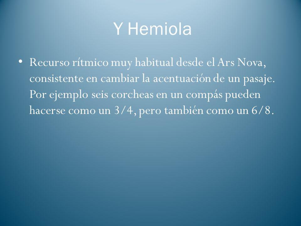 Y Hemiola