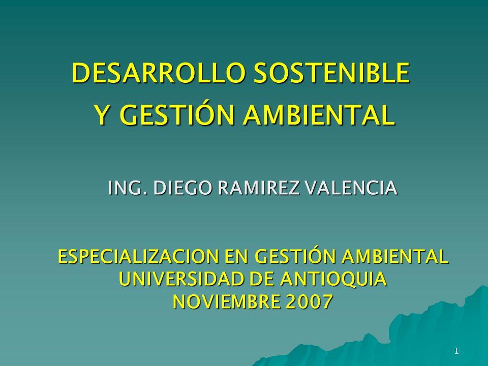 DESARROLLO SOSTENIBLE Y GESTIÓN AMBIENTAL