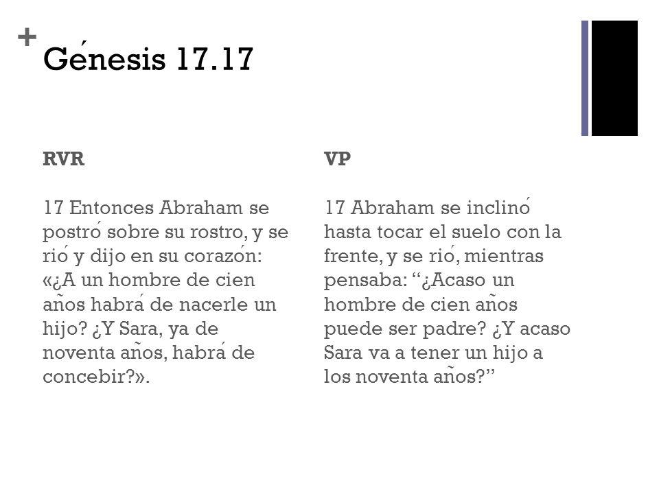 Génesis 17.17