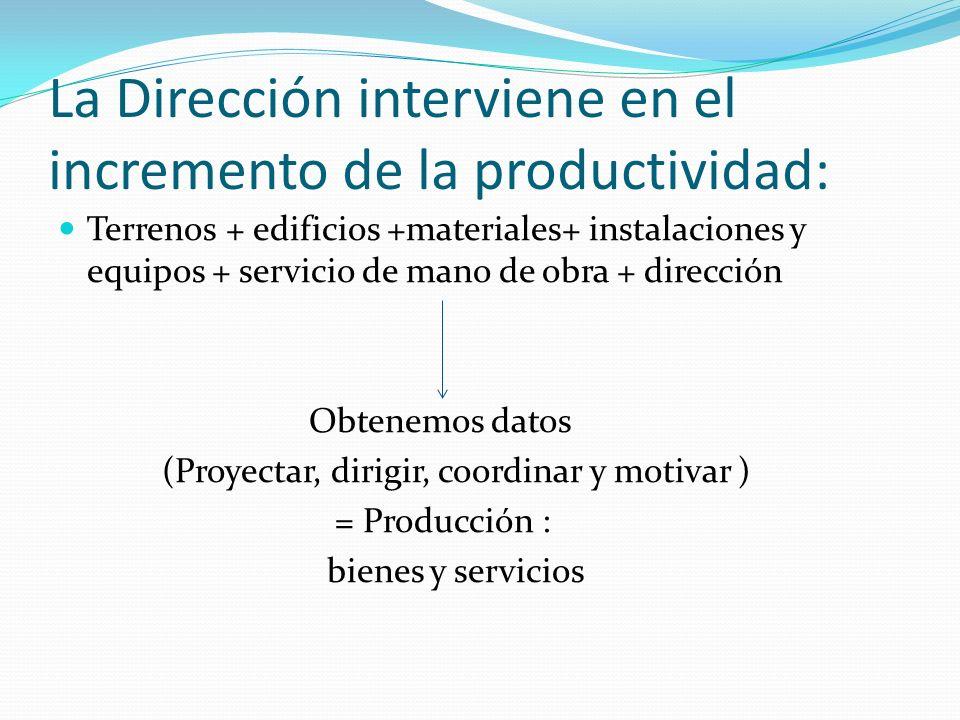 La Dirección interviene en el incremento de la productividad: