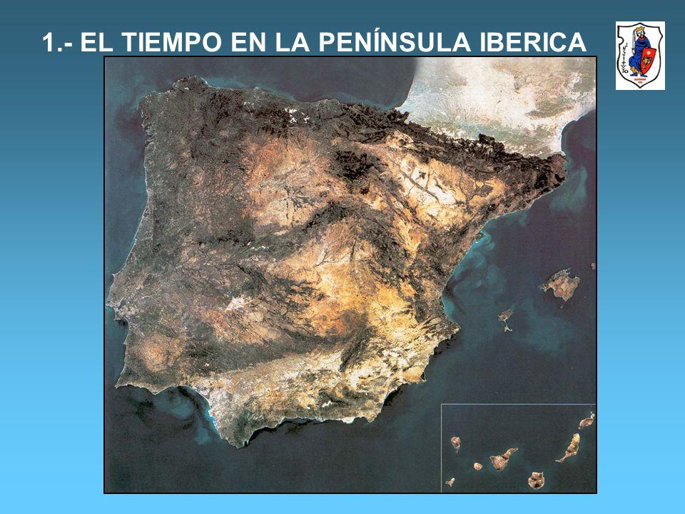1.- EL TIEMPO EN LA PENÍNSULA IBERICA