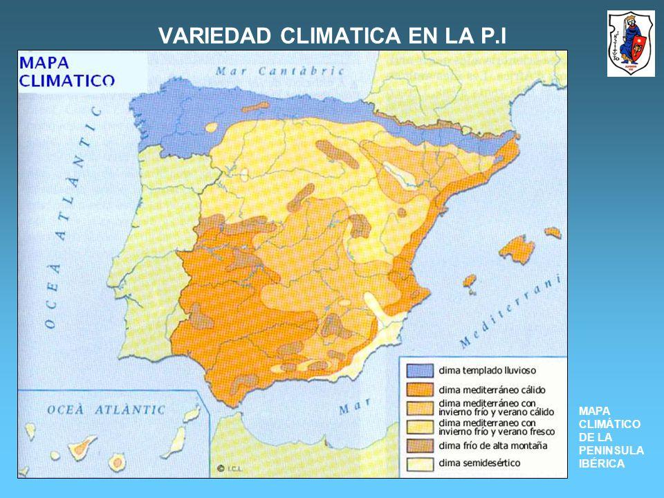 VARIEDAD CLIMATICA EN LA P.I