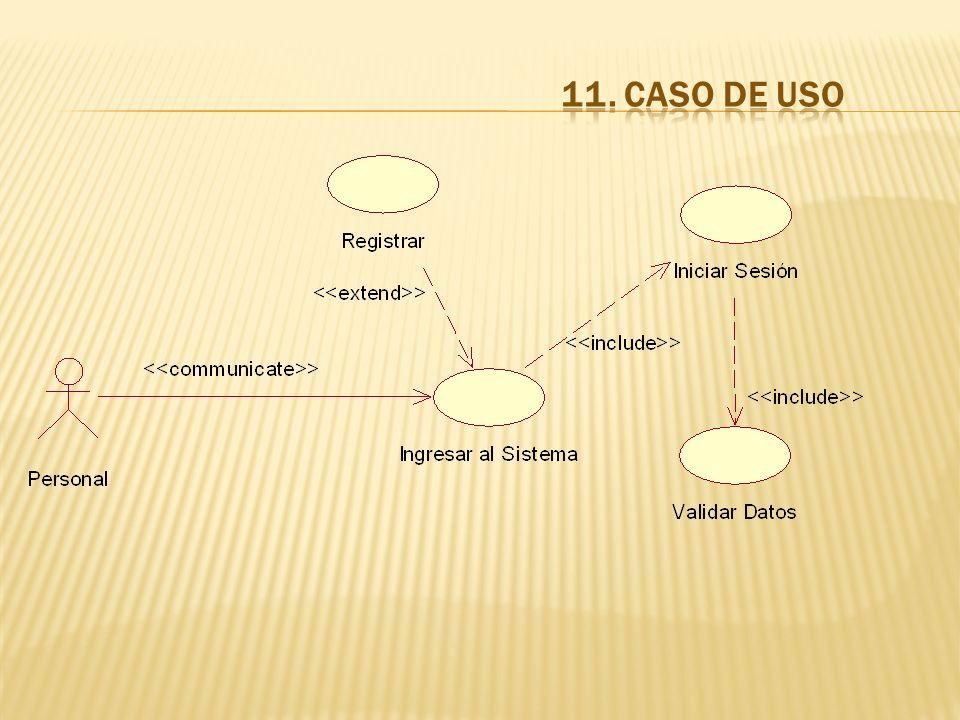 11. CASO DE USO
