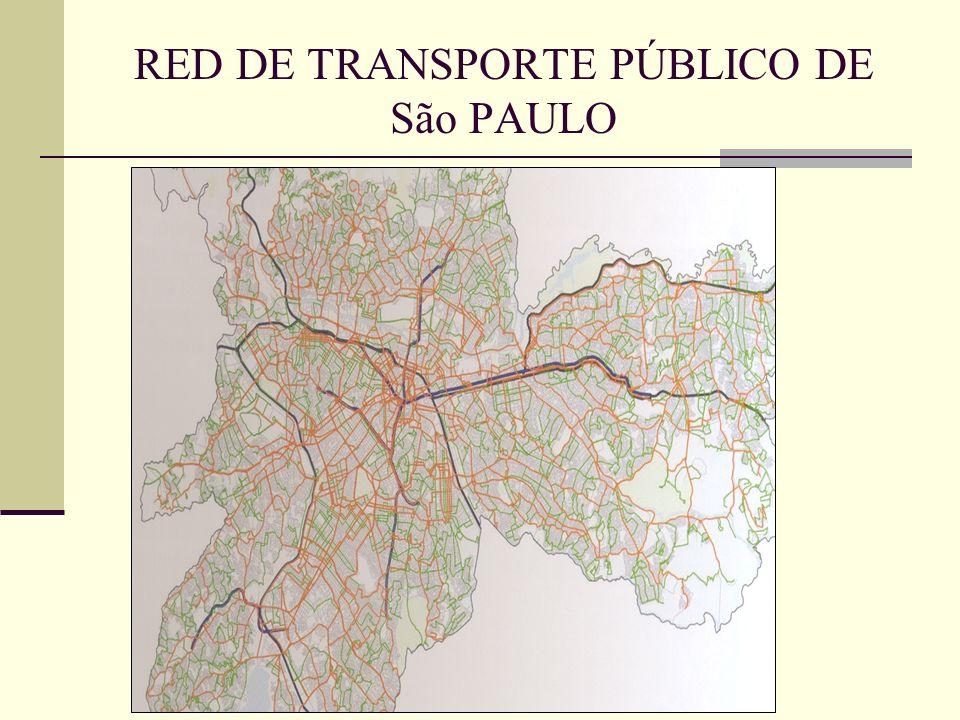 RED DE TRANSPORTE PÚBLICO DE São PAULO