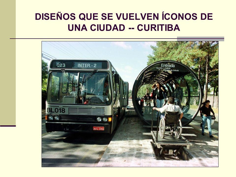 DISEÑOS QUE SE VUELVEN ÍCONOS DE UNA CIUDAD -- CURITIBA