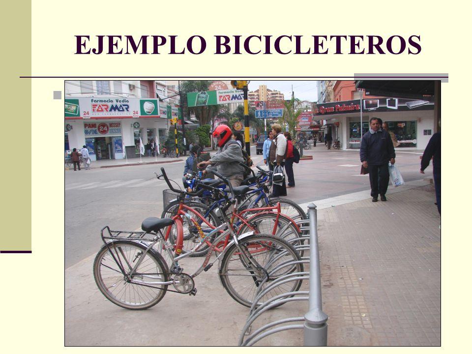 EJEMPLO BICICLETEROS