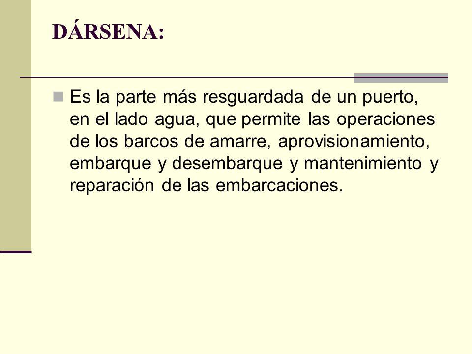 DÁRSENA: