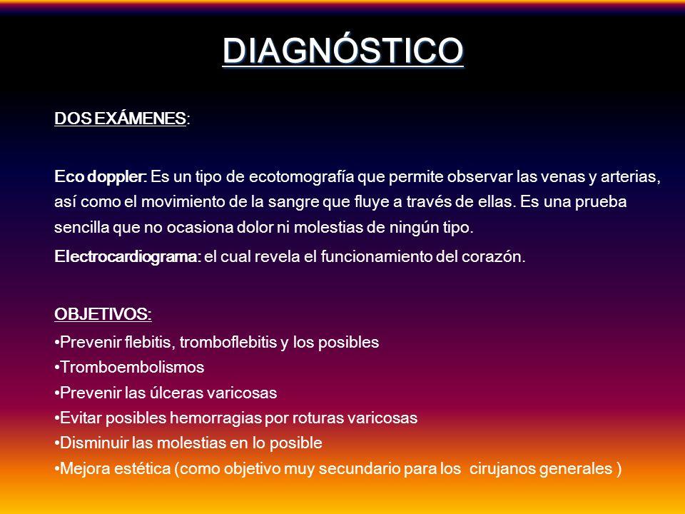 DIAGNÓSTICO DOS EXÁMENES: