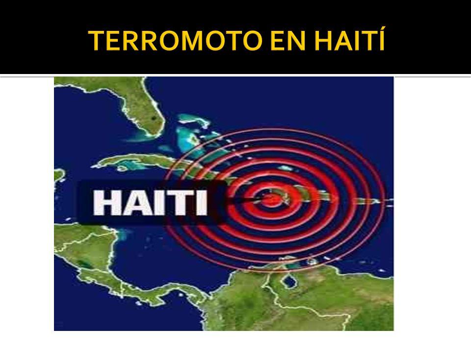 TERROMOTO EN HAITÍ