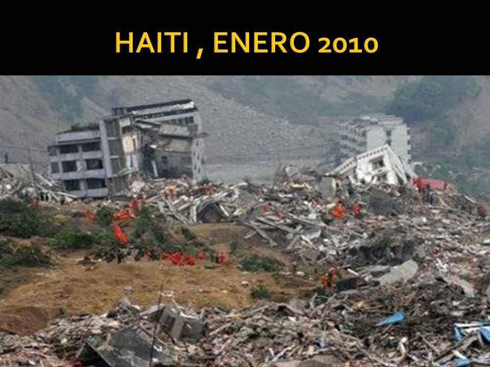 HAITI , ENERO 2010