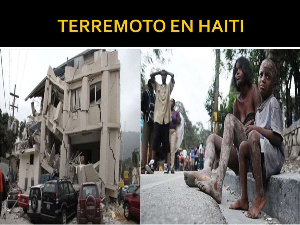 TERREMOTO EN HAITI