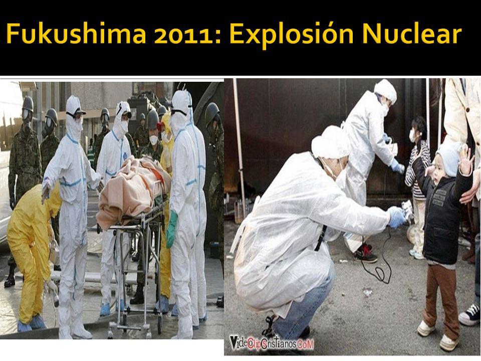 Fukushima 2011: Explosión Nuclear