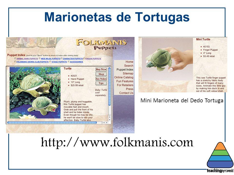Marionetas de Tortugas