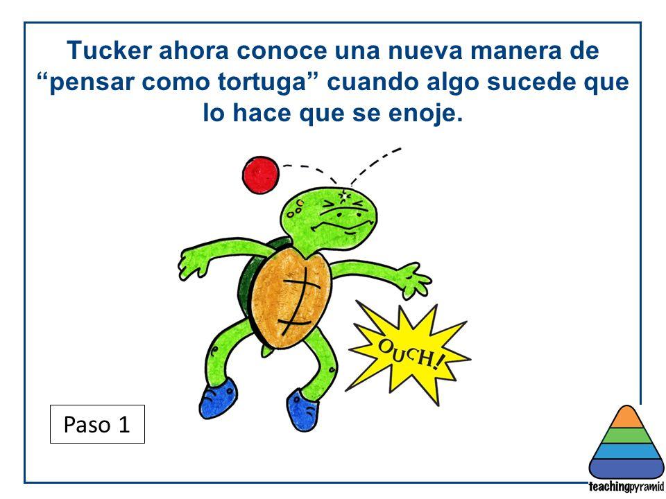 Teaching Pyramid Updated June 2012. Tucker ahora conoce una nueva manera de pensar como tortuga cuando algo sucede que lo hace que se enoje.