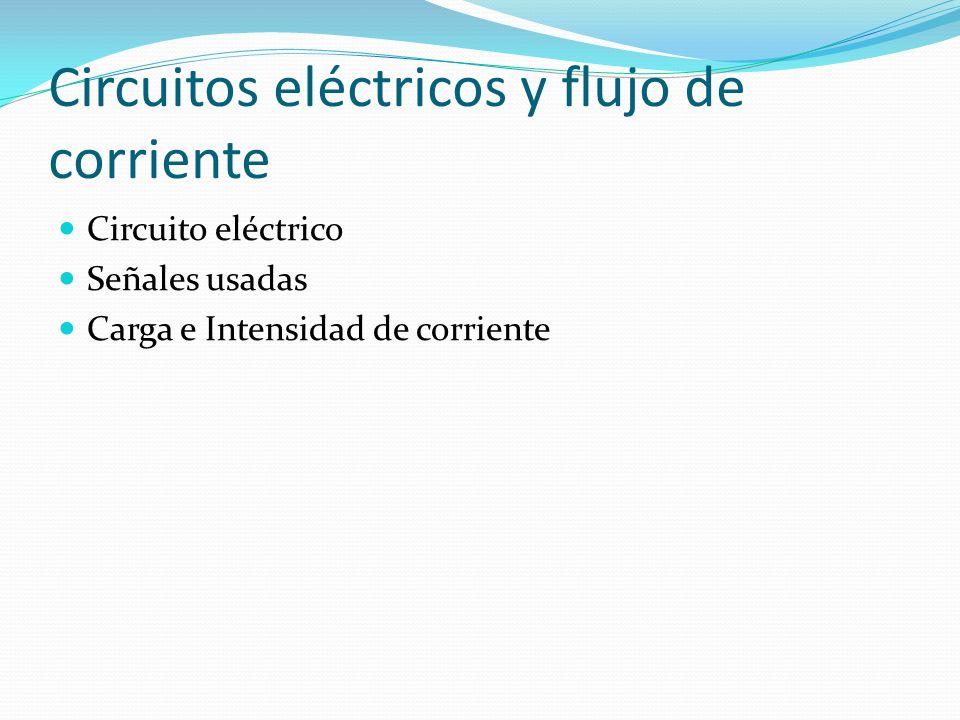 Circuitos eléctricos y flujo de corriente