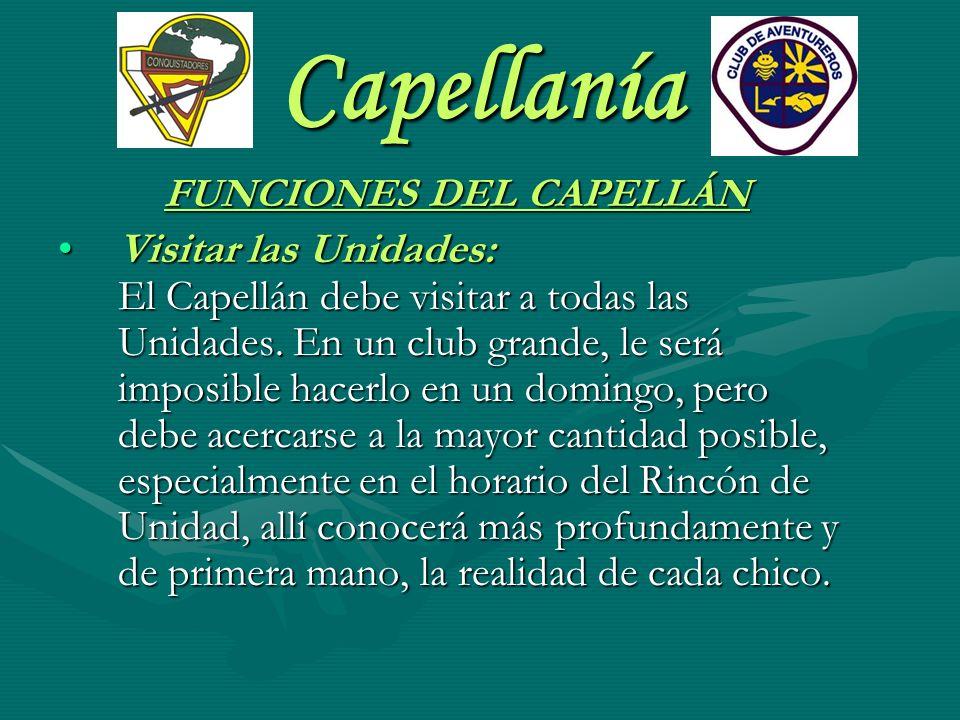 FUNCIONES DEL CAPELLÁN