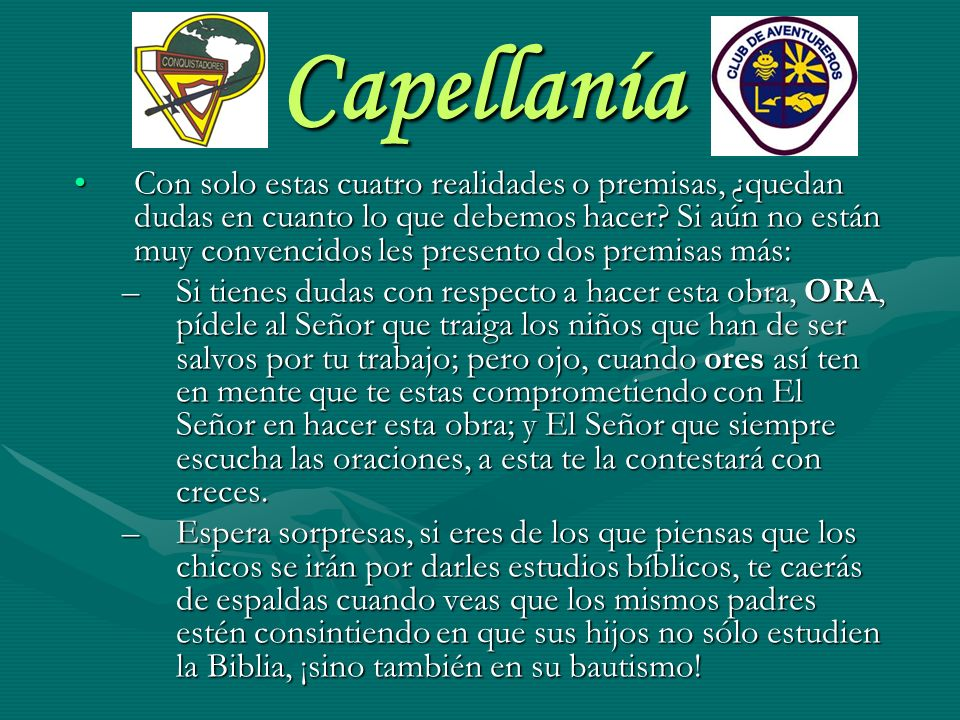 Capellanía