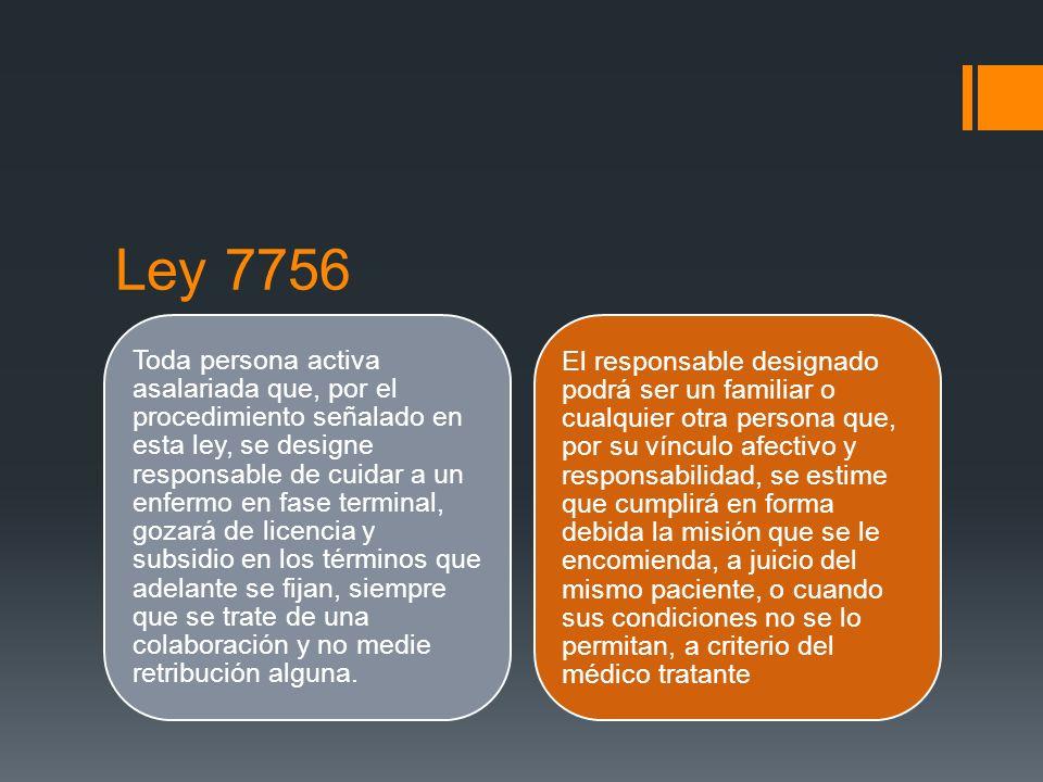 Ley 7756